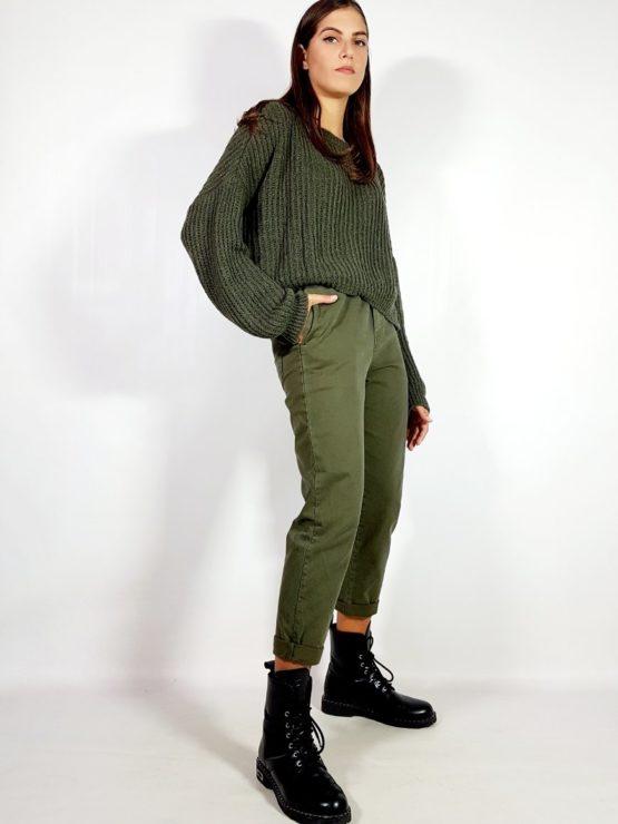 pantalone-in-cotone-verde-militare-fiona-c